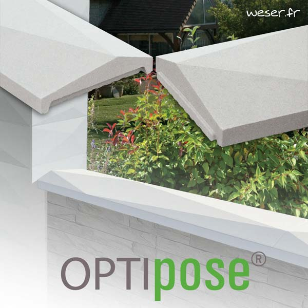 Gamme Chaperons - Couvre-murs OPTIPOSE® WESER