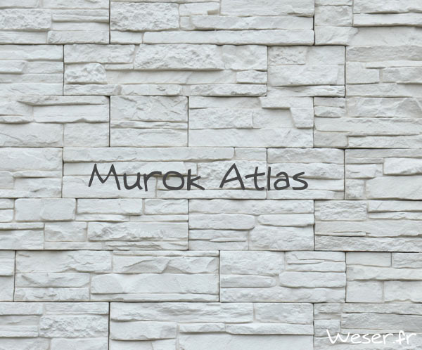 Parement Murok Atlas Blanc De ryck By weser