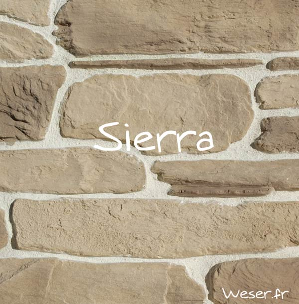 Parement Sierra brun nuance De Ryck by WESER