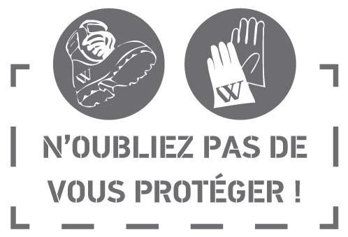 N'oubliez pas de vous protéger